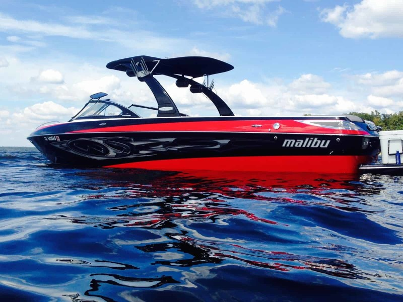 Malibu featured boat